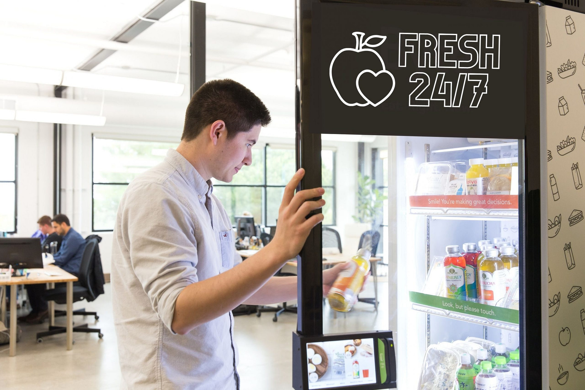 kiosk open door (2)